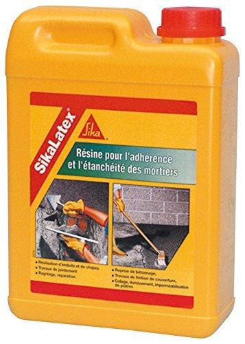 sika 682 sikalatex zusatzmittel fuer betonmoertelverputz 2 l - Sika 682 Sikalatex Zusatzmittel für Beton/Mörtel/Verputz, 2l