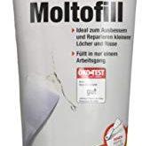 Molto Reparatur Moltofill Innen Fertigspachtel 330 g 169x165 - Molto Reparatur Moltofill Innen Fertigspachtel, 330 g,