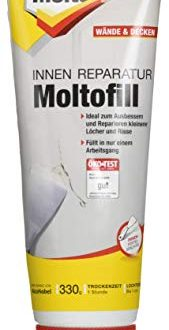 Molto Reparatur Moltofill Innen Fertigspachtel 330 g 169x330 - Molto Reparatur Moltofill Innen Fertigspachtel, 330 g,