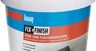 Knauf 593579 FixFinish Fein und Flaechenspachtel weiss 15 kg 310x165 - Knauf 593579 Fix+Finish Fein- und Flächenspachtel weiß 1,5 kg