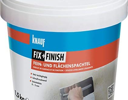 Knauf 593579 FixFinish Fein und Flaechenspachtel weiss 15 kg 422x330 - Knauf 593579 Fix+Finish Fein- und Flächenspachtel weiß 1,5 kg
